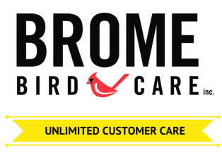 Show some love to our sponsor, Brome Bird Care!
